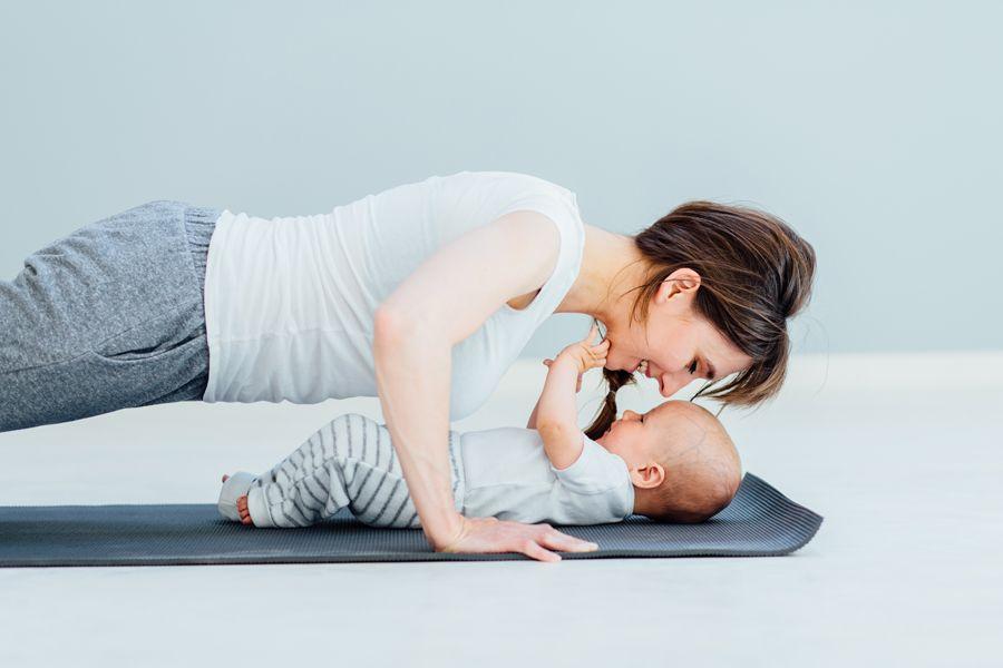 Фитнес после родов или как вернуть форму?