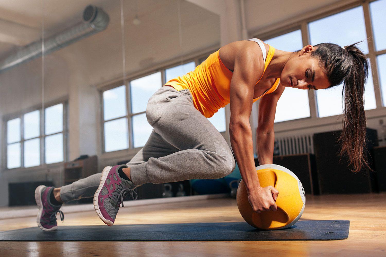 Какие упражнения для каких мышц?