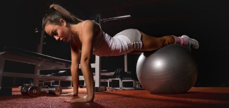 5 упражнений для девушек в тренажерном зале