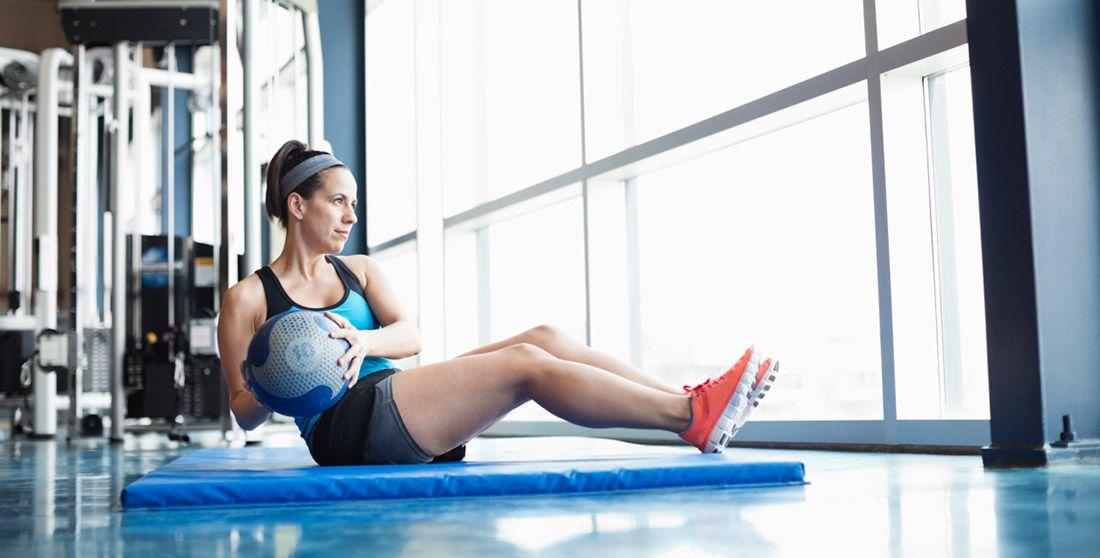 Упражнение «боковые скручивания»: способы сделать талию тоньше