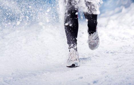 Как одеваться для бега зимой на улице?